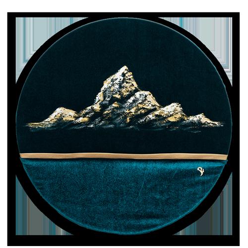 HelenaSirceljArt-Golden-Mountain--Original-Oil-Painting-Limited-Edition-details