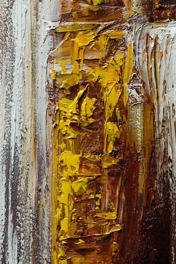 HelenaSirceljArt-Golden-Waterfalls-Original-Oil-Painting-Giorgio-Armani-Satin-Limited-Edition-4