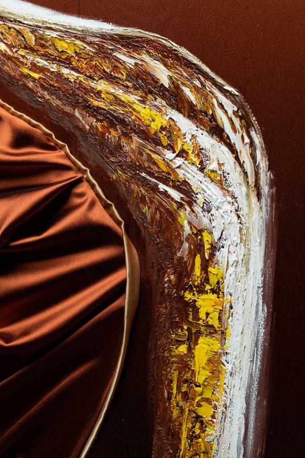 HelenaSirceljArt-Golden-Waterfalls-Original-Oil-Painting-Giorgio-Armani-Satin-Limited-Edition-7