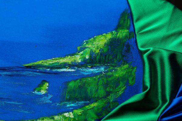 HelenaSirceljArt-Molokai-Hawaii-Original-Oil-Painting-Giorgio-Armani-Satin-Limited-Edition-2