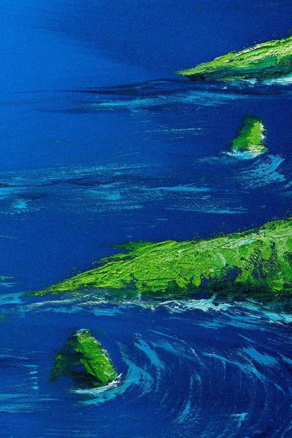 HelenaSirceljArt-Molokai-Hawaii-Original-Oil-Painting-Giorgio-Armani-Satin-Limited-Edition-4