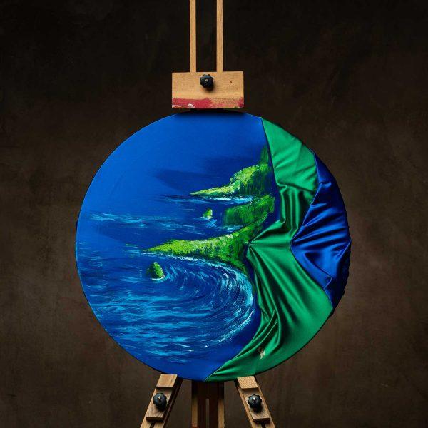 HelenaSirceljArt-Molokai-Hawaii-Original-Oil-Painting-Giorgio-Armani-Satin-Limited-Edition