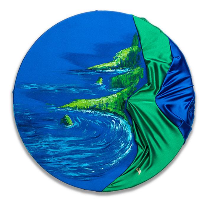 HelenaSirceljArt-Molokai-Hawaii-Original-Oil-Painting-Giorgio-Armani-Satin-Limited-Edition-home